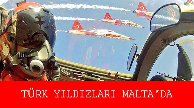 türk yıldızları maltada