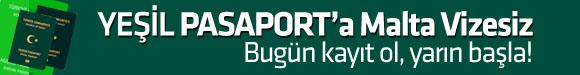 yeşil pasaportla vizesiz malta