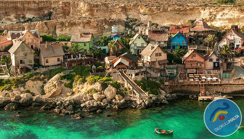 Malta'da Mutlaka Görmeniz Gereken 10 Yer - popeye village