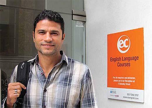 William Machado de Oliveira Dil Eğitimi İçin Malta'yı seçti