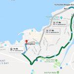 Bugibba'dan Ta Fra Ben Plajına Ulaşım