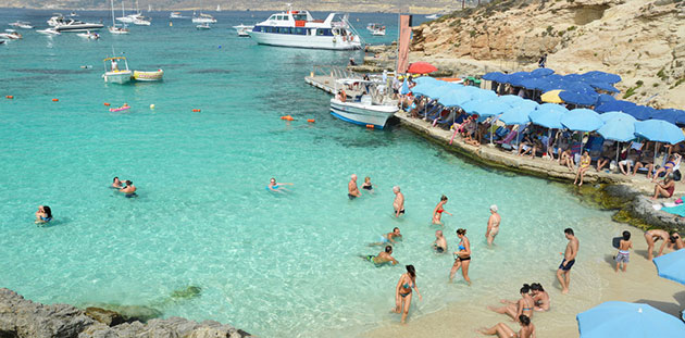 Comino Beach | Comino Plajı - Malta