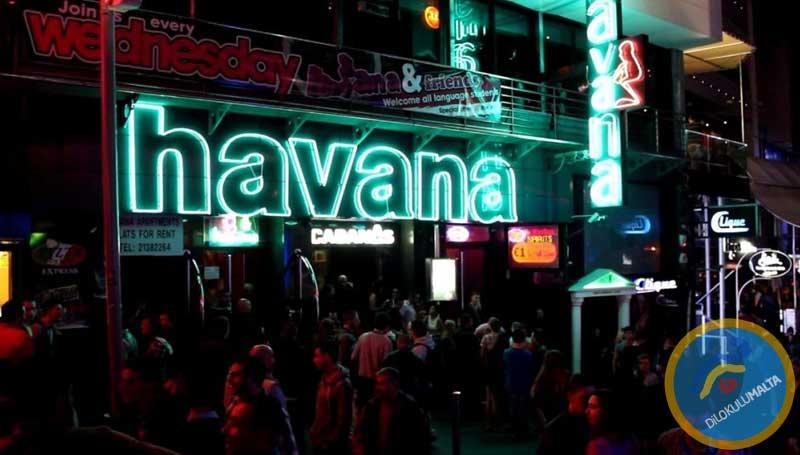 Malta'da Gece Hayatı - Havana Club