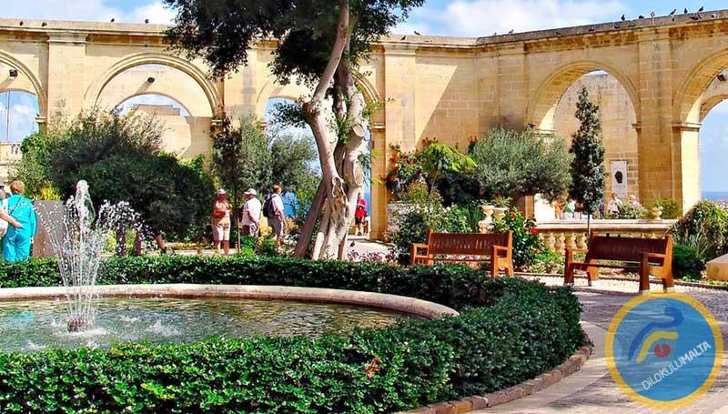 Malta Kafeleri - Upper Barakka Gardens, Malta