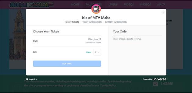 malta müzik festivali bilet
