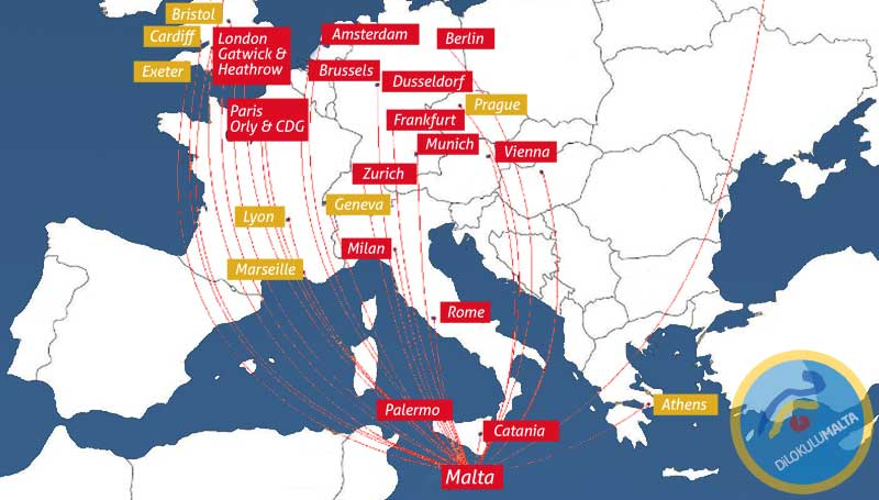 Malta Vizesi ile Avrupa Seyahati - Malta Vizesi ile Nerelere Gidilir?