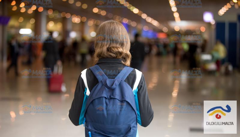 Malta'da İlk Gün Dil Eğitimi, Konaklama ve Seyahat