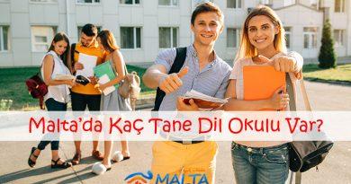 Malta'da Kaç Tane Dil Okulu Var