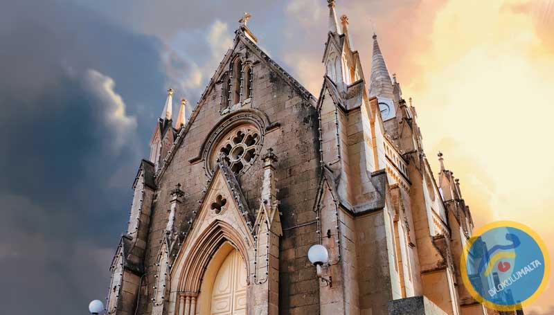 Malta'da Kiliseler - Gozo Adasından Bir kilise