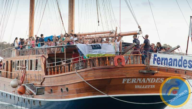 Malta'da Tekne Turu
