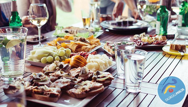 Malta'ya Özgü Yemekler