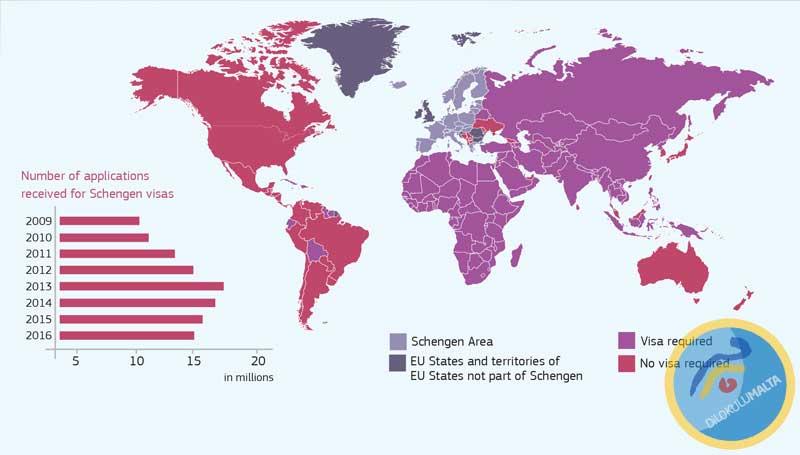 Schengen Vize Ücreti Zammı Onaylandı