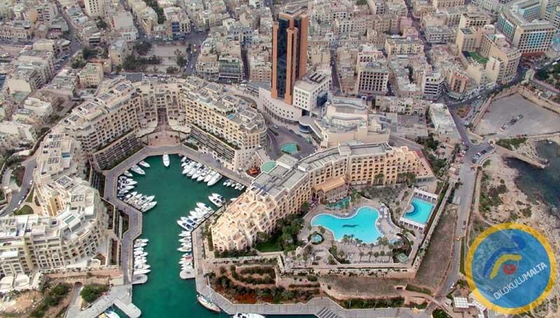 St Julians - Malta Şehirleri Rehberi