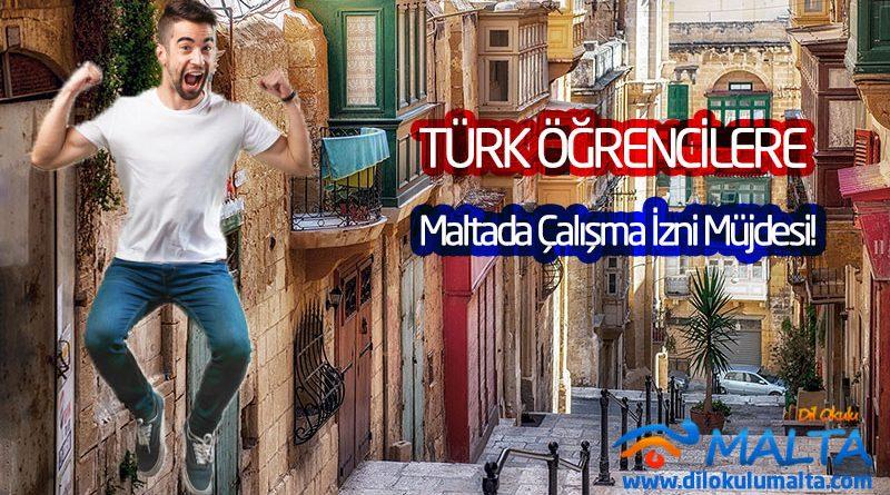 Türk Öğrencilere Malta'da Çalışma İzni Müjdesi