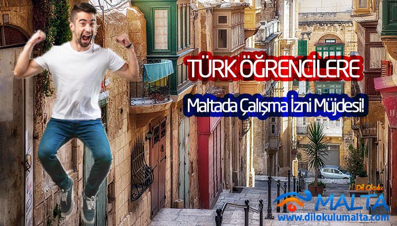 Türk Öğrencilere Malta'da Çalışma İzni Müjdesi - Çalışma İzni Nasıl Alınır?